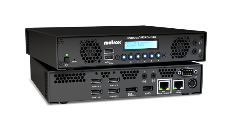 The Matrox Maevex 6120
